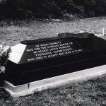 black granite full grave tomb stone