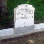 restored family gravestone