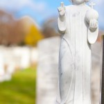 baby jesus gravestone