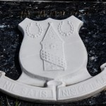 everton badge headstone