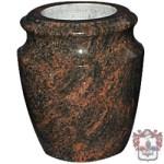 shaped granite vase, flower pot