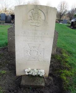 George Edward Nurse VC RA, Allerton Cemetery, Liverpool