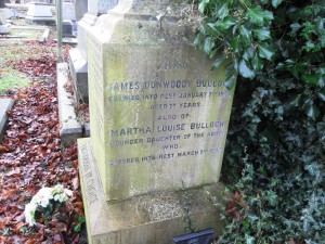 James Dunwoody Bulloch, Toxteth Cemetery