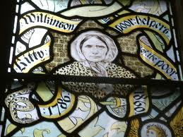 Kitty Wilkinson in the Lady Chapel Liverpool Cathedral