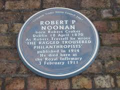 Robert Noonan, Blue Plaque
