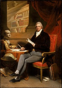 William Roscoe portrayed by Martin Archer Shee