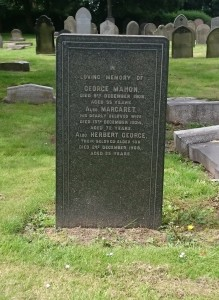 Everton George Mahon Grave Anfield Cemetery