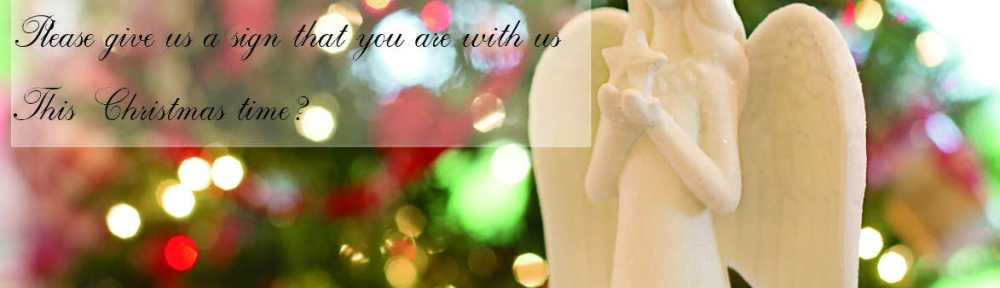 Christmas card to a dearly departed loved one.