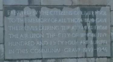 Anfield Cemetery Blitz memorial - Copy