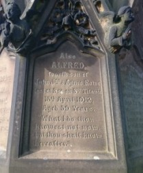 alfred rowe titanic survivor memorial toxteth cemetery (1)