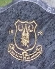 Everton headstone