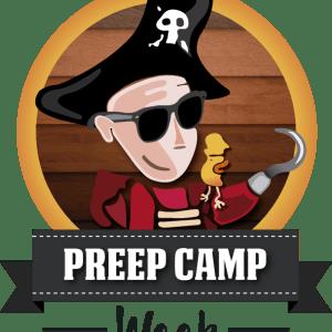 design pour festival preep Camp Sardaigne
