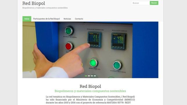 Diseño web de divulgación científica red Biopol – Gestión de contenidos y fotografía