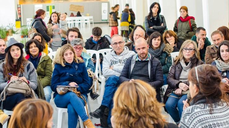 Fotografía para evento en Alicante de economía solidaria Reiniciando El Sistema de Alacant Desperta