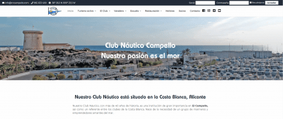 diseño web en Alicante - comunicación online - Agencia de publicidad