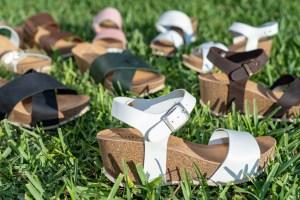 Fotografia de producte per a la marca de calçat d'Elx Autenti