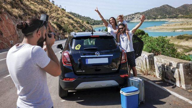 Fotografía de coches para empresa de alquiler GoldCar e InterRent en Alicante