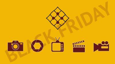 Descuento black friday en producción audiovisual