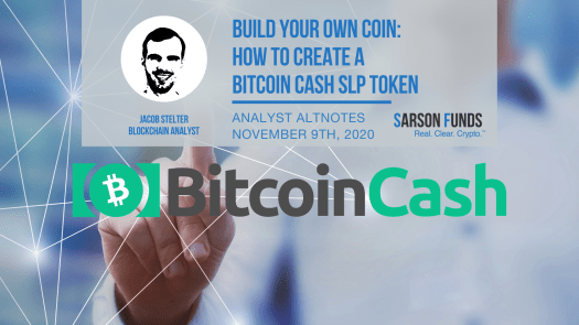 Creating Your Own Cryptocurrency - Sarson Funds Cryptocurrency Financial Advisors