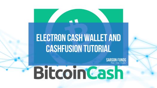 Bitcoin Cash Electron Cash Wallet Cash Cushion