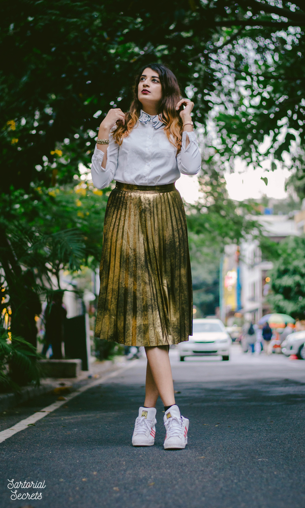 Shine Like Gold, Sparkle Like Glitter! Outfit of the Day