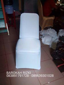 Sarung kursi Warna putih - sarungkursi-jakarta.com