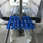 Laveuse de caisses adapté pour le lavage de support oeuf