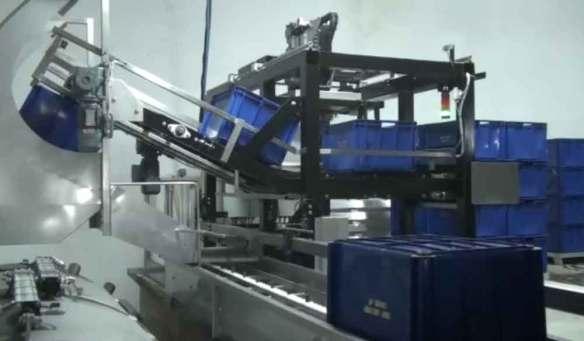 Chargeur automatique de pressoir - Chargement d'un pressoir de 8000 kg en 30 minutes