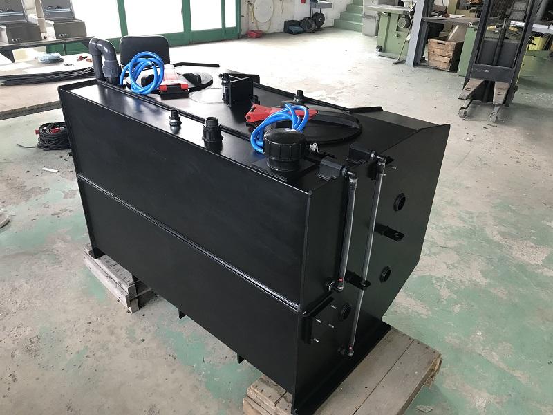 Réservoir adapté pour tracteurs Bobard volume 1150 L + réserve d'eau