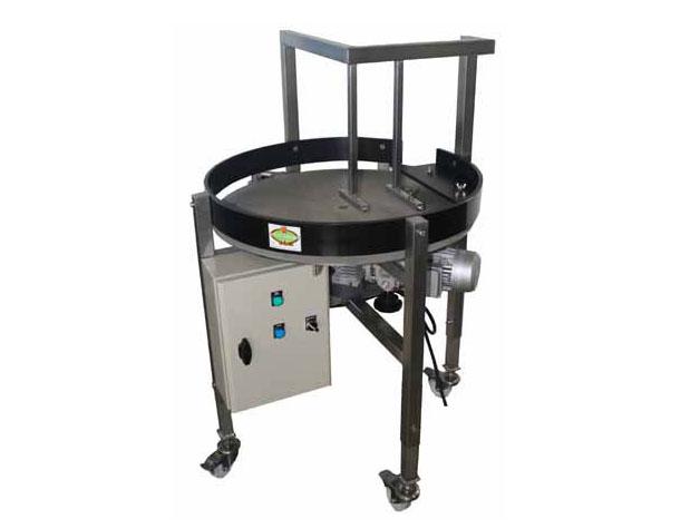 Table tournante pour alimentation de machine