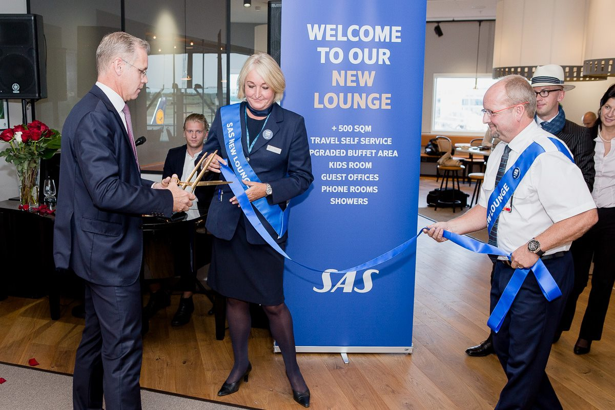 SAS opens new lounge in Stockholm