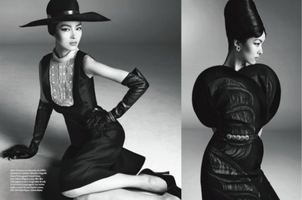 Fei Fei Sun in Vogue Italia