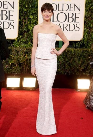 Golden Globes Anne Hathaway