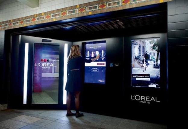 L'oreal Paris Vending Machines