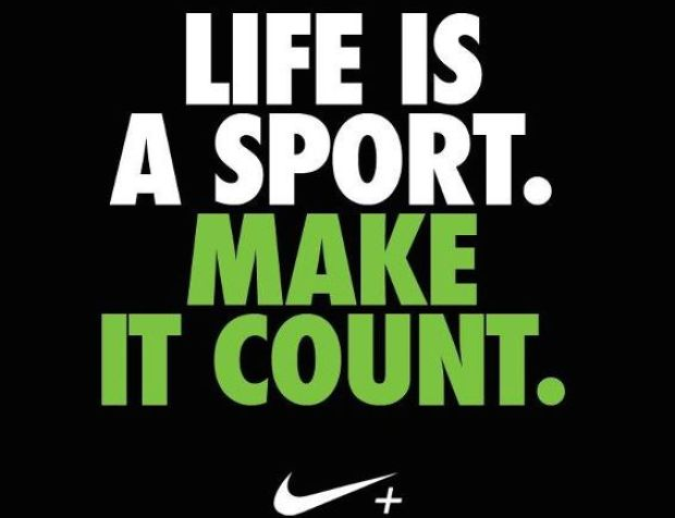 Nike Run Club Life is a Sport