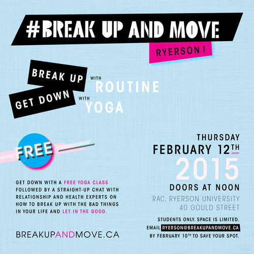 Break Up and Move