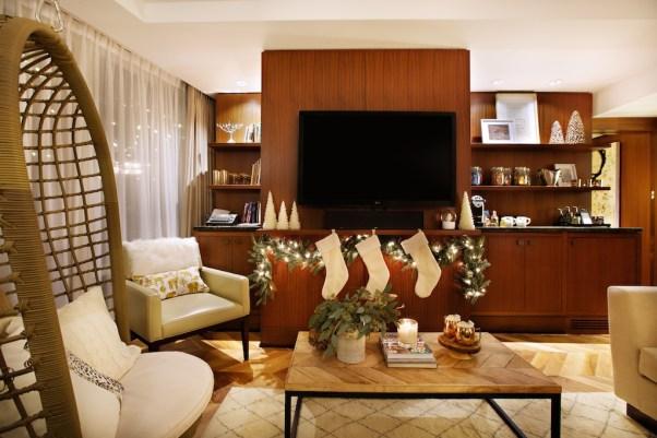 Close up of living room Winter Wonderland Suite