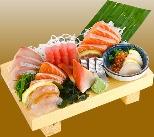 Kebanyakan Makan Sashimi