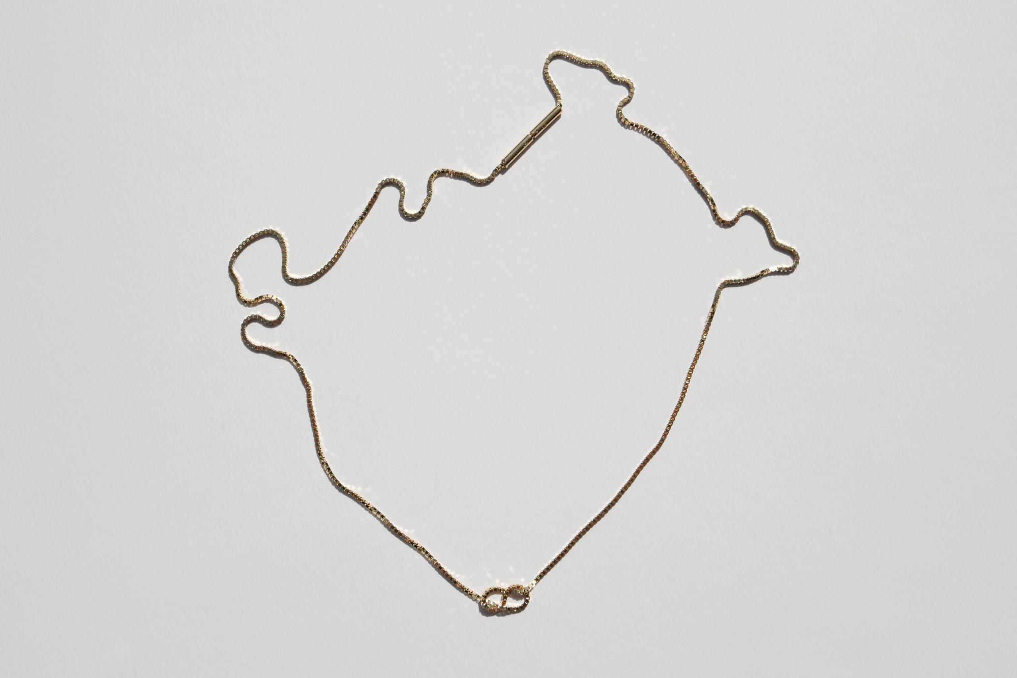 Fine Infinity Necklace Saskiaz