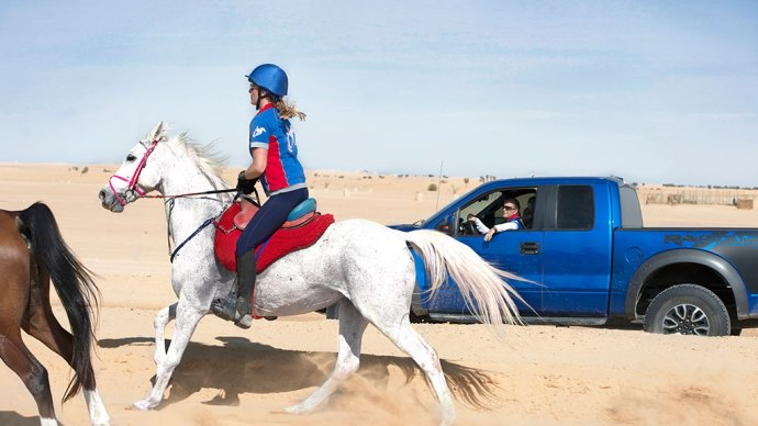TRial endurance race dubai by saskia marloh 1