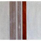 #04 | 50 x 100 cm | óleo sobre tabla y listones de madera de sapelli