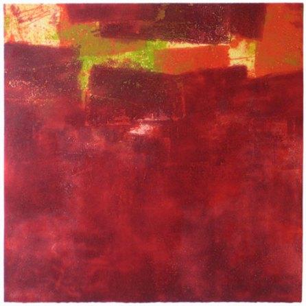 Rojo-verde | 76 x 76 cm | edición 15 ejemplares + 1P.A.