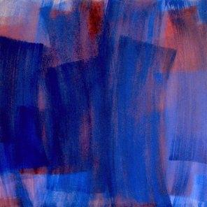 azul-rojo #3 | 108 x 108 cm