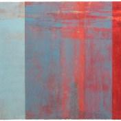 Rojo-Turquesa | 100 x 125 cm