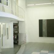 vista de la exposición en la galería Milagros Delicado · Cádiz