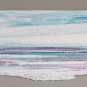 09 violeta-cyan | enmarcado, 25 x 65 cm