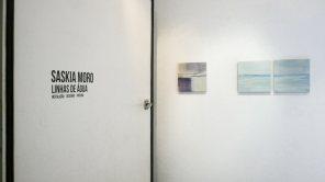 entrada sala principal | pintura, 35 x 35 cm