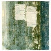 Agenda 1992 | monotipo con collage | 56 x 56 cm
