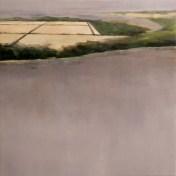 salinas en el estuario   100 x 100 cm   óleo sobre tela