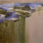 Tajo en la frontera I | 100 x 100 cm | óleo sobre tela